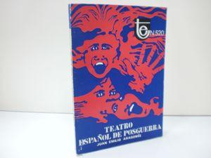 TEATRO ESPAÑOL DE POSGUERRA