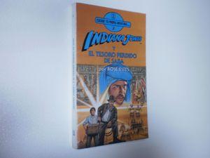 INDIANA JONES Y EL TESORO PERDIDO DE SABA