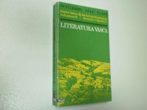 LITERATURA VASCA TESORO BREVE DE LAS LETRAS HISPANICAS VOLUMEN VI SERIE MOSAICO ESPAÑOL I