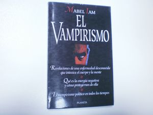 EL VAMPIRISMO