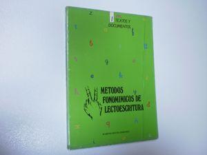 METODOS FONOMIMICOS DE LECTOESCRITURA