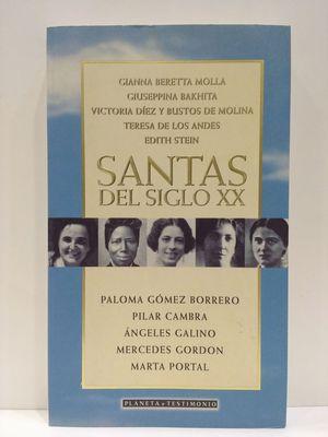 SANTAS DEL SIGLO XX