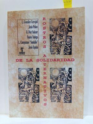 ROSTROS ALTERNATIVOS DE LA SOLIDARIDAD. III ENCUENTROS CON FRANCISCO DE ASÍS