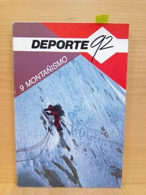 MONTAÑISMO (Nº9) DEPORTE 92