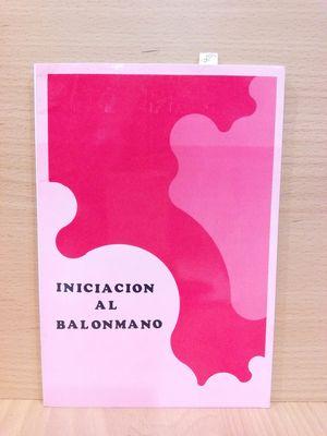 INICIACIÓN AL BALONMANO