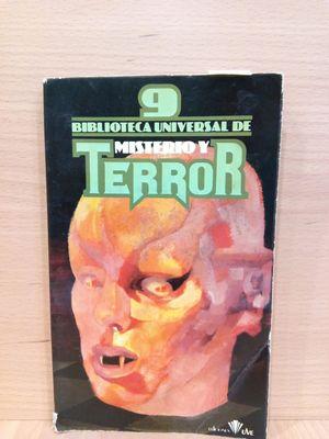 BIBLIOTECA UNIVERSAL DE MISTERIO Y TERROR (NÚMERO 9)