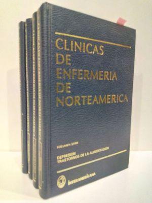 CLÍNICAS DE ENFERMERÍA DE NORTEAMERICA (CONJUNTO 4 TOMOS)