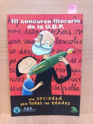 II CONCURSO LITERIARIO DE LA UNIÓN DE PENSIONISTAS Y JUBILADOS
