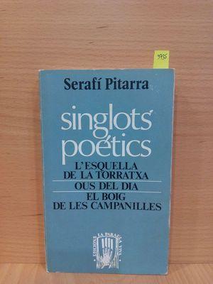 SINGLOTS POÉTICS