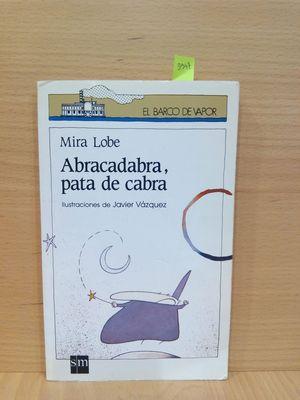 ABRACADABRA, PATA DE CABRA