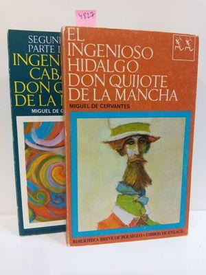 EL INGENIOSO HIDALGO DON QUIJOTE DE LA MANCHA (2 TOMOS)