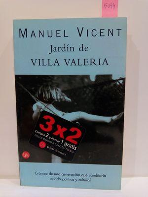 EL JARDIN DE VILLA VALERIA