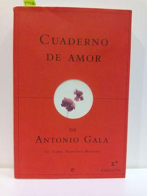CUADERNO DE AMOR DE ANTONIO GALA