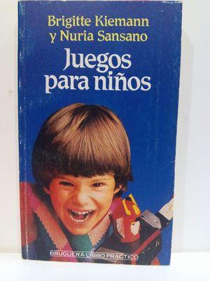 JUEGOS PARA NIÑOS (COL. BRUGUERA, LIBRO PRÁCTICO)