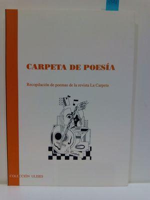 CARPETA DE POESÍA. (COL. ULISES)