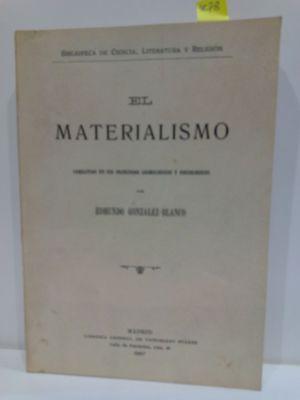 EL MATERIALISMO COMBATIDO EN SUS PRINCIPIOS COSMOLÓGICOS Y PSICOLÓGICOS