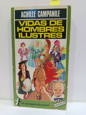 VIDAS DE HOMBRES ILUSTRES