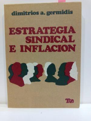 ESTRATEGIA SINDICAL E INFLACIÓN. COLECCIÓN TRABAJO Y SOCIEDAD, 19