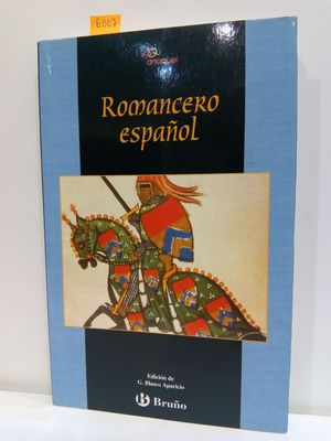 ROMANCERO ESPANOL/ SPANISH ROMANCERO (ANAQUEL) (SPANISH EDITION)
