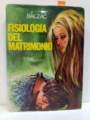 FISIOLOGÍA DEL MATRIMONIO