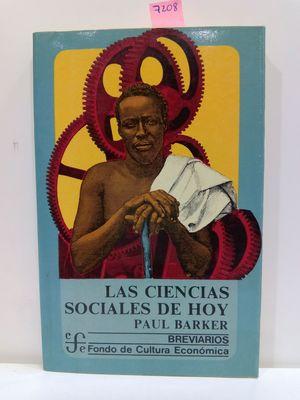 LAS CIENCIAS SOCIALES DE HOY