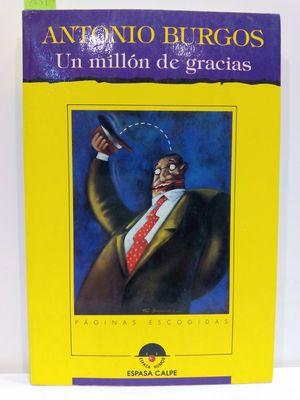 UN MILLÓN DE GRACIAS (ESPASA HUMOR)
