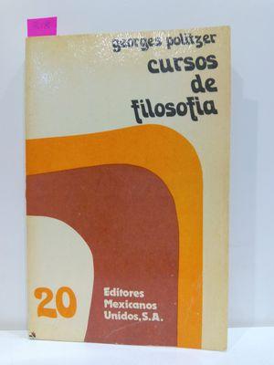 CURSOS DE FILOSOFIA