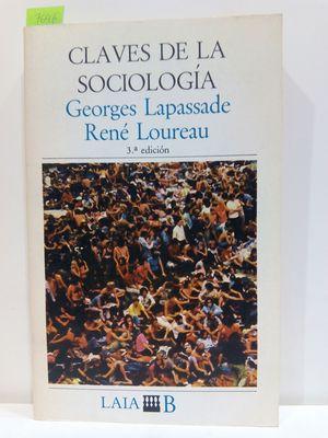 CLAVES DE LA SOCIOLOGÍA