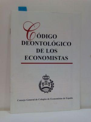 CÓDIGO DEONTOLÓGICO DE LOS ECONOMISTAS