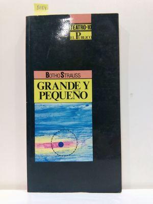 GRANDE Y PEQUEÑO  (CON SU COMPRA COLABORA CON LA ONG  'EL ARCA DE NOÉ')