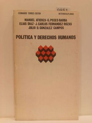 POLITICA Y DERECHOS HUMANOS