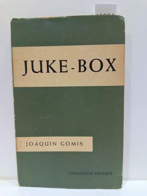 JUKE-BOX. 33 CARTAS PARA EL FINAL DE LA ADOLESCENCIA