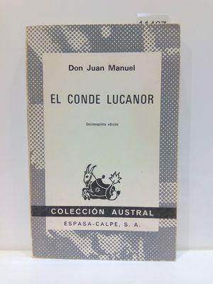 EL CONDE LUCANOR. COLECCIÓN AUSTRAL