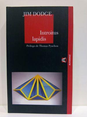 INTROITUS LAPIDIS