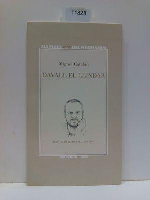 DAVALL EL LLINDAR (ELS PLECS DEL MAGNÁNIM, NÚMERO 75)