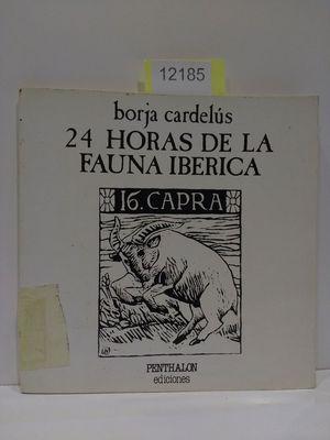 24 HORAS DE LA FAUNA IBÉRICA.