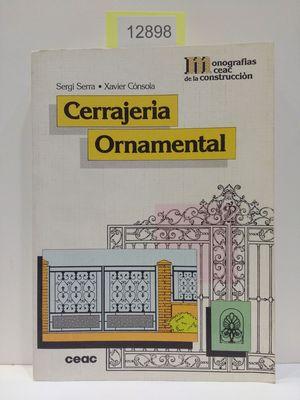 CERRAJERIA ORNAMENTAL
