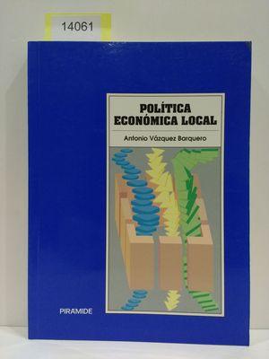POLÍTICA ECONÓMICA LOCAL