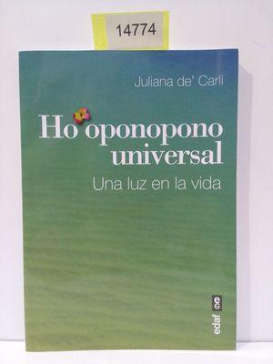 HO?OPONOPONO UNIVERSAL