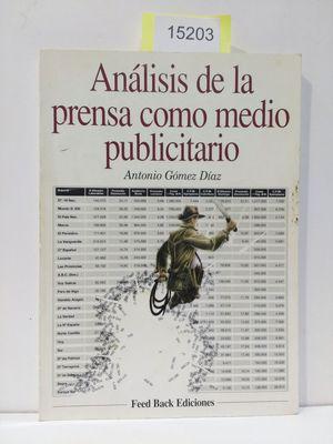 ANÁLISIS DE LA PRENSA COMO MEDIO PUBLICITARIO