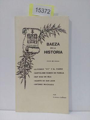 BAEZA EN LA HISTORIA
