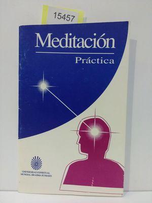 MEDITACIÓN (CON TU COMPRA COLABORAS CON