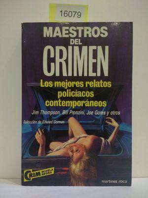 EDWARD GORDON PRESENTA MAESTROS DEL CRIMEN