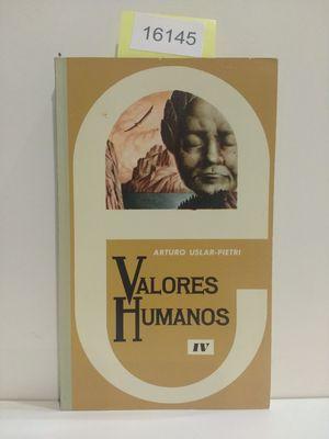 VALORES HUMANOS IV