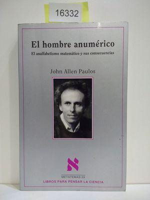 EL HOMBRE ANUMÉRICO