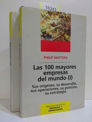 LAS CIEN MAYORES EMPRESAS DEL MUNDO I Y II (2 TOMOS DE VENTA CONJUNTA E INSEPARABLE)