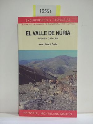 VALLE DE NURIA, EL (CON TU COMPRA COLABORAS CON LA ONG