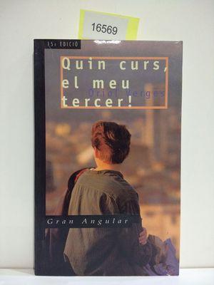 QUIN CURS, EL MEU TERCER! (CON TU COMPRA COLABORAS CON LA ONG