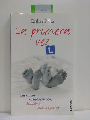 LA PRIMERA VEZ (CON TU COMMPRA COLABORAS CON LA ONG