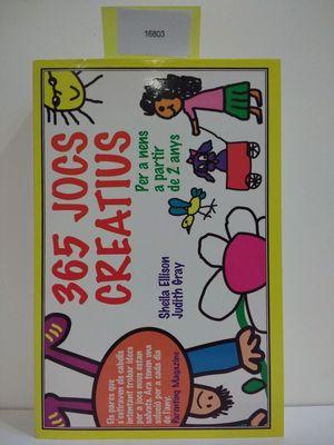 365 JOCS CREATIUS (CON TU COMPRA COLABORAS CON LA ONG